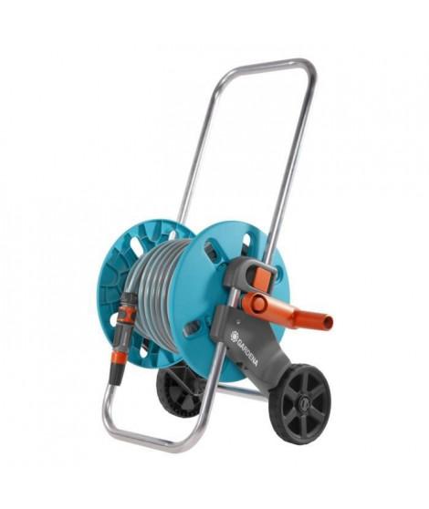 GARDENA Dévidoir sur roues équipé Aquaroll S - Tuyau 25m