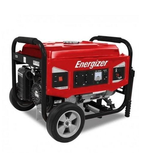 ENERGIZER Groupe électrogene essence de chantier 5500 W 5000 W - Systeme AVR  EZG6000