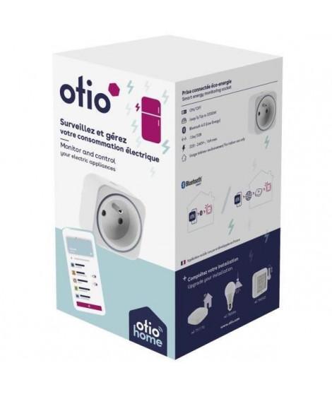 OTIO Prise connectée éco-énergie Bluetooth -
