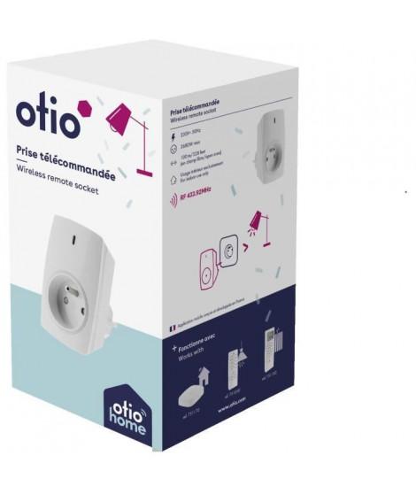 OTIO Prise connectée pilotable a distance ou avec télécommande -