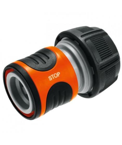GARDENA Raccord Aquastop pour tuyau Ø int. 19mm