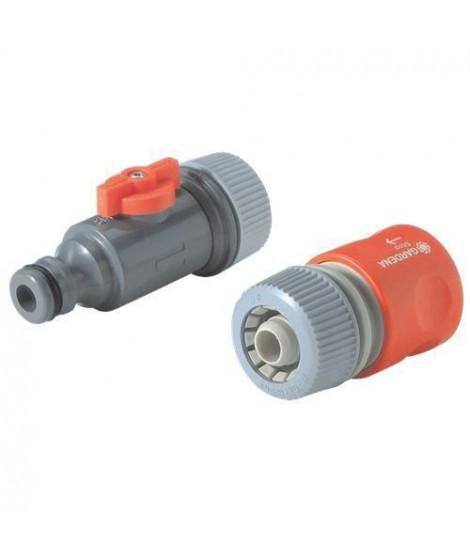 GARDENA Set de raccordement pour tuyau micro-poreux