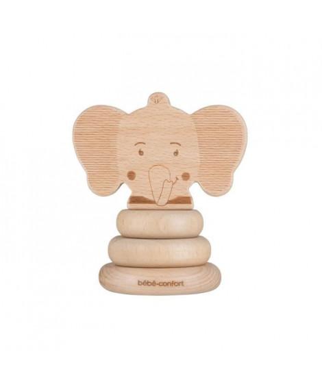 BEBE CONFORT Jouet En Bois Fsc - A Empiler - Elidou L'éléphant - Safari