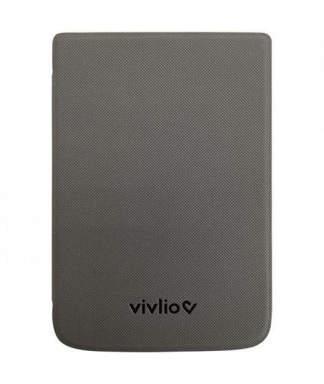 VIVLIO - Housse de Protection Intelligente Compatible TL4/TL5 et THD+ - Gris