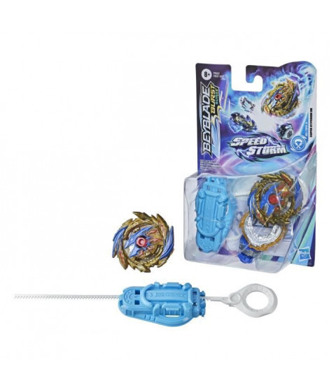 Beyblade Speed Storm - Starter Pack Super Hyperion H6 - toupie et lanceur