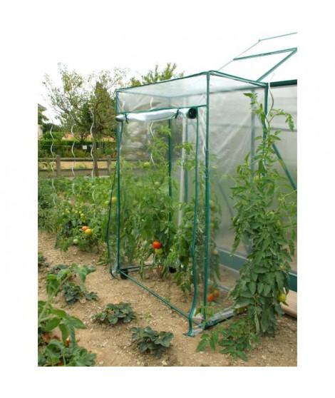 JANY FRANCE Serre de jardin a tomate - 100 x 50 x 150 cm - Vert
