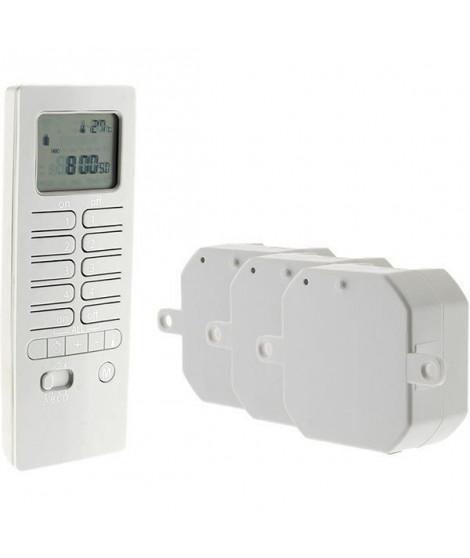 OTIO Pack chauffage connecté avec télécommande thermostat et modules de chauffage -