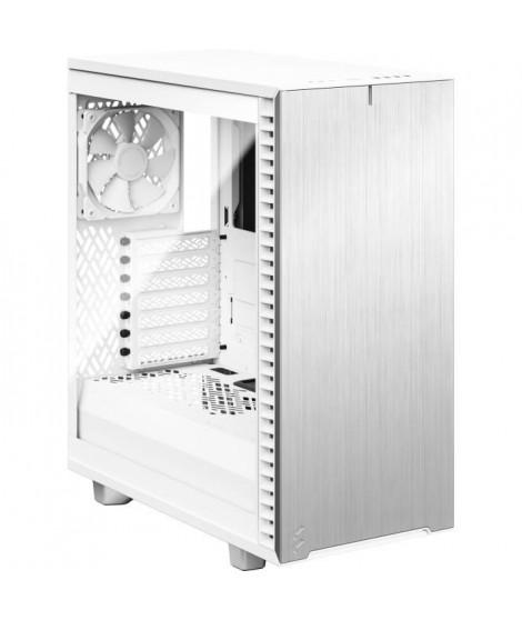 FRACTAL DESIGN Boitier PC Define 7 Compact Blanc Panneau Verre Trempé Clair(FD-C-DEF7C-04)