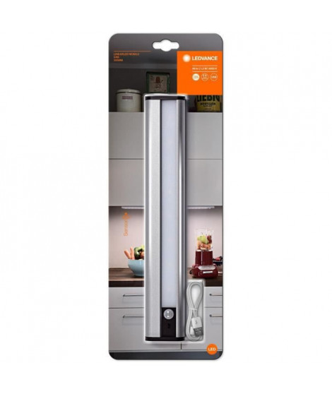 LEDVANCE Luminaire rechargeable Linear LED Mobile Usb 300 - Argent