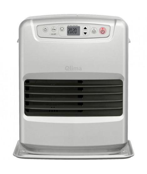 QLIMA SRE3331C-2 Poele a pétrole électronique 3,1 kW - Jusqu'a 48 m² - Réservoir 5 L - Mode SAVE - Sécurité CO² - Anti-renver…