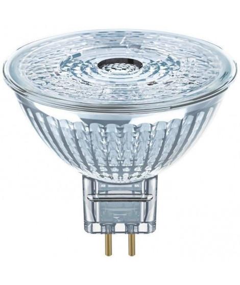 OSRAM Spot MR16 LED 36° verre - 8 W  50 W - GU5.3 - Blanc chaud