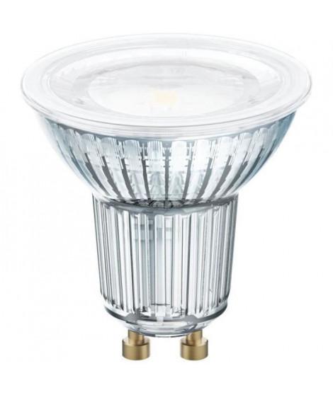 OSRAM Spot PAR16 LED 120° verre variable - 8,3 W  80 W - GU10 - Blanc chaud