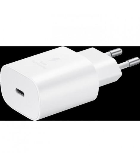 CS rapide 25W, Port USB-C Blanc (sans câble)