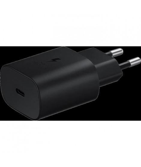 CS rapide 25W, Port USB-C Noir (sans câble)