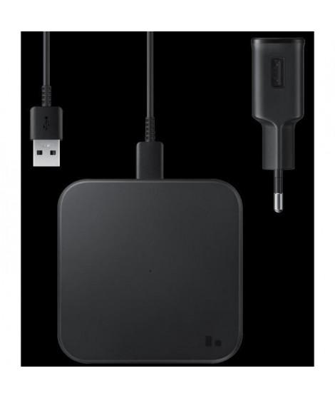 Pad Induc plat Charge Rapide USB-C Noir sans CS
