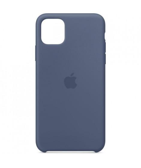 APPLE Coque Silicone Bleu d'Alaska pour iPhone 11 Pro Max
