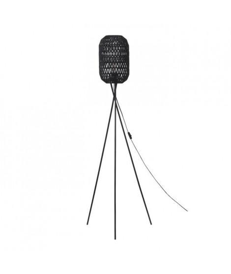 Lampadaire Trépied métal - H 140cm