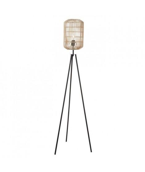 Lampadaire Rotin - H155cm