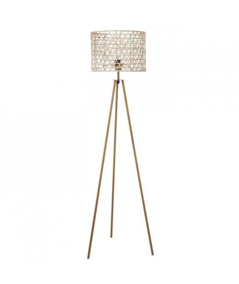 Lampadaire pied métal - H145cm