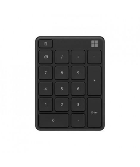 Microsoft Wireless Number Pad - Pavénumérique Bluetooth – Noir