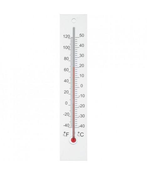 NATURE Thermometre mural d'extérieur en plexiglas