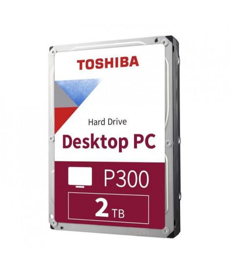 TOSHIBA - Disque dur Interne - P300 - 2To - 5 400 tr/min - 3.5 (HDWD220UZSVA)