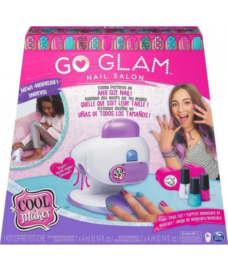COOL MAKER - Go Glam Nail Stamper Salon - Machine a Manucure Pédicure avec 5 motifs et Vernis Inclus - 6054791 - Jouet Enfant…