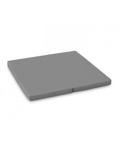 HAUCK Matelas Sleeper pour lit parc SQ - 90 x 90 cm - gris