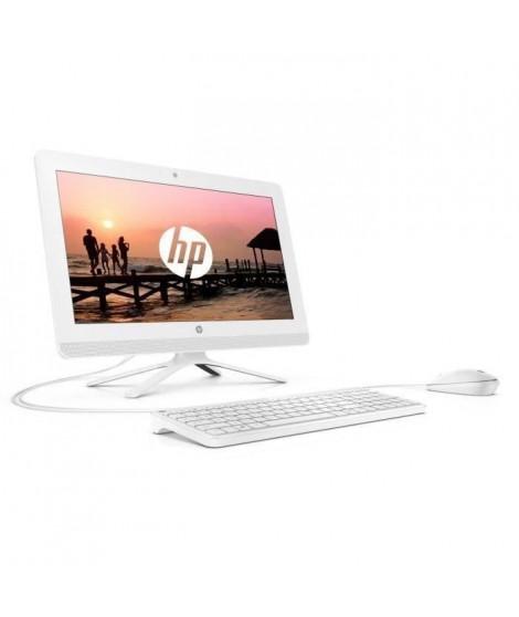 HP PC Tout en un - 19.5 FHD UWVA - AMD A4-9125 - RAM 4 Go - Disque dur 1 To - AMD Radon R3 - Windows 10 - Webcam - Blanc