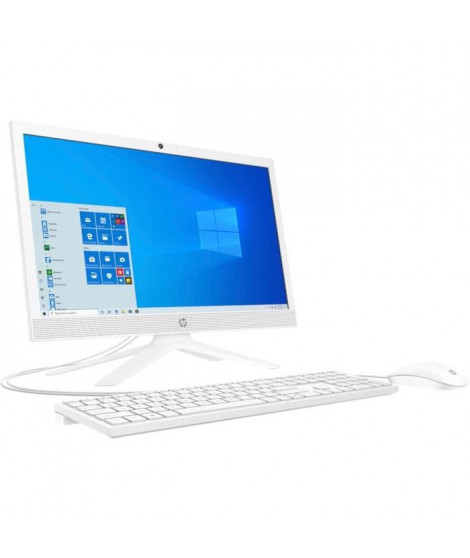 HP PC All-in-One 21-b0055nf - 21HD - Celeron J4025 - RAM 4Go - Stockage 256 Go SSD - Windows 10