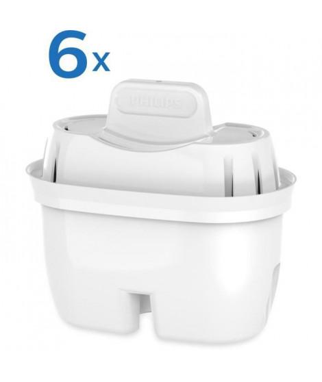PHILIPS AWP212 - Pack de 6 filtres pour carafes filtrantes Philips gamme Mayflower