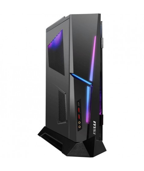 Unité centrale Gamer - MSI MEG Trident X 10SE-1035FR - Core i7-10700KF - 16 Go - Stockage 1 To HDD + 1 To SSD - RTX 2080  - W…