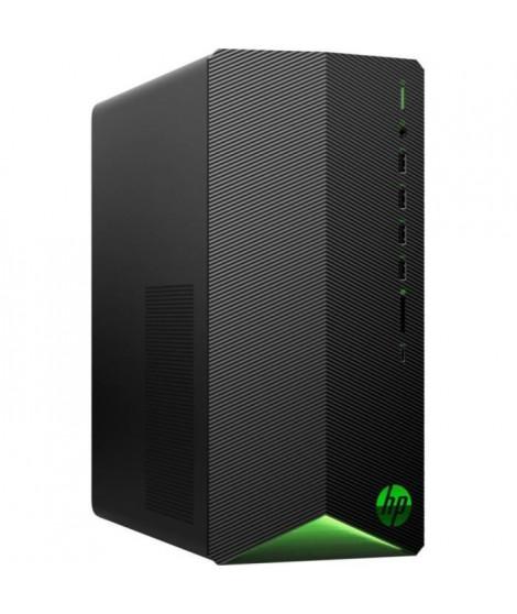 HP PC de Bureau Gaming TG01-1033nf - Core i5-10400F - RAM 8Go - Stockage 128Go SSD + 1To HDD - GTX1650 4Go - Windows 10