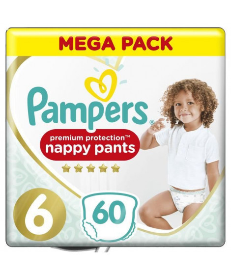 PAMPERS Premium Protection Pants T6 - x60