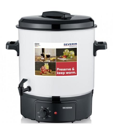 SEVERIN EA3654 Sterilisateur - capacite de 27 litres - Fonctions sterilisation et maintien au chaud pour 14 pots de 1 litre /…