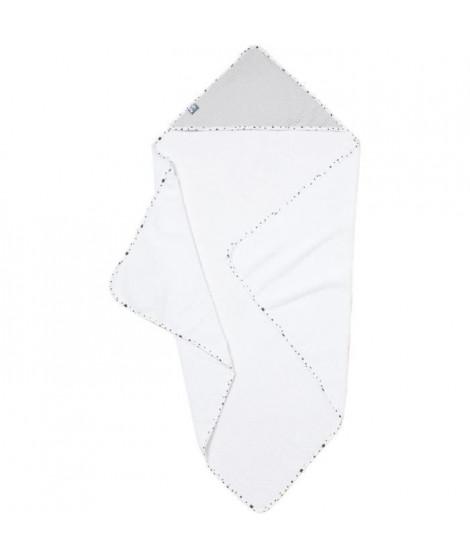 Cape de bain 100x100cm Gris clair