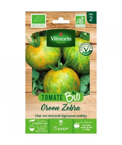 Tomate green zébra bio Vilmorin