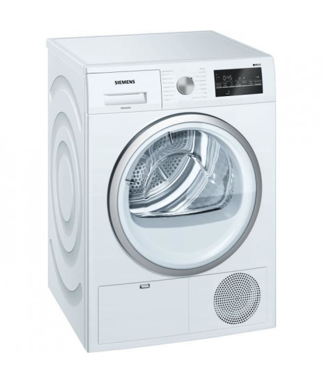 Seche-linge a condensation SIEMENS WT45G408FF -  8 kg - Classe B - Blanc