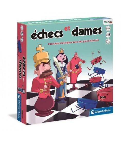 Clementoni - 52543 - Dames et échecs