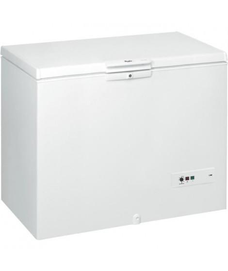 WHIRLPOOL WHM46111 - Congélateur coffre - 432L - Froid statique - A+ - L 140,5 x H 91.6 cm - Blanc