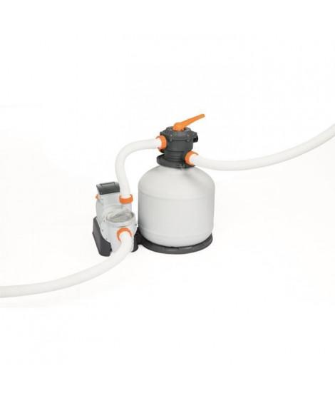 BESTWAY Filtre a sable 9,841 m³/H + pré-filtre - Blanc