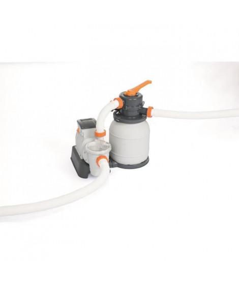 BESTWAY Filtre a sable 5,678 m³/H + pré-filtre - Blanc