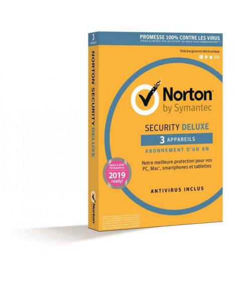 Norton Security 2018 Deluxe 3 Apps