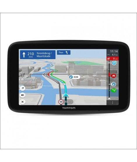 TomTom GO Discover Monde 7'' - GPS auto 7 pouces HD, cartographie monde 183 pays, TomTom Traffic, services premium live