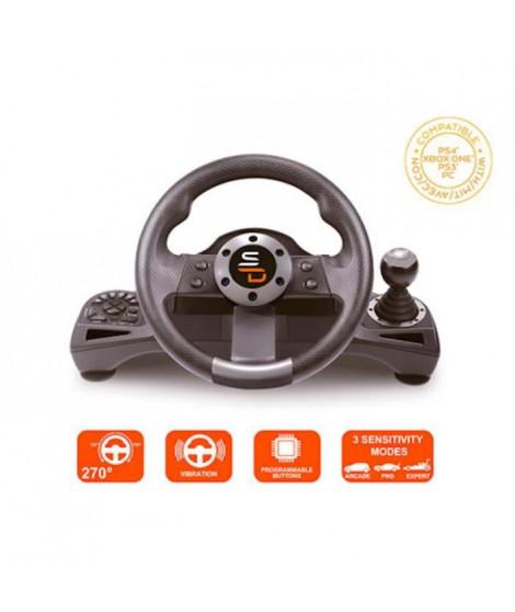 Volant Drive Pro Sport avec pédalier et levier de vitesse Subsonic mutiplateformes