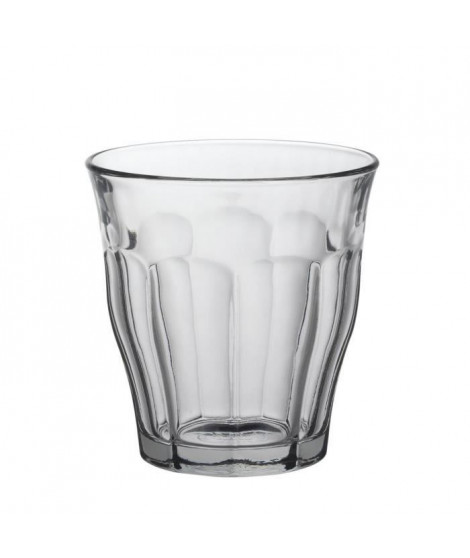 DURALEX Lot de 6 verres gobelets PICARDIE - 16 cl