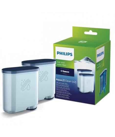 PHILIPS CA6903/22 Lot de 2 filtres a eau et a calcaire AquaClean
