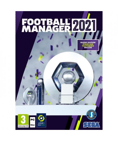 Football Manager 2021 Limited Edition Jeu PC (Code dans la boîte)