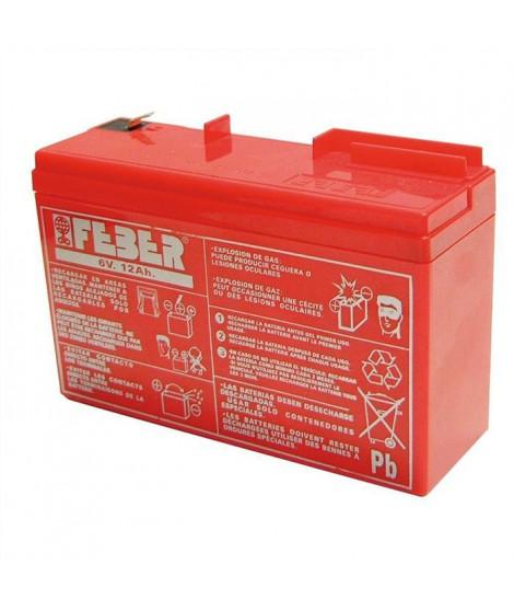 Batterie pour véhicule électrique - 6 volts 10 ah - FEBER