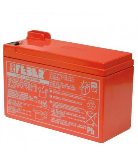 Batterie pour véhicule électrique - 12 volts 7,2 ah - FEBER